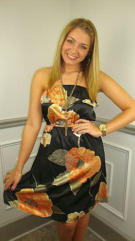 Elegant Afternoon Dress