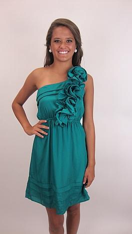 Last Dance Dress, Green