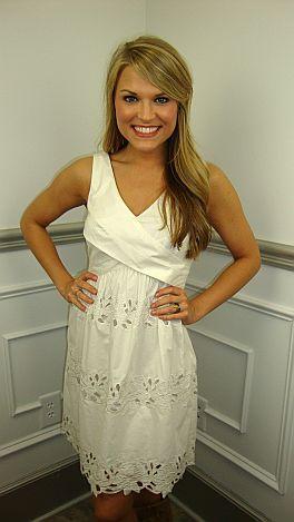 A+ A-line Dress, Ivory