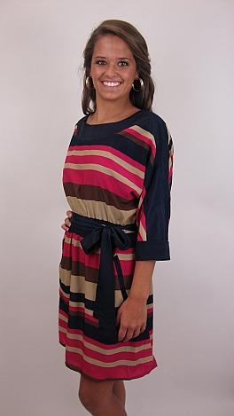 Delightfully Striped Dress