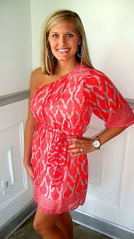 KARLIE Hot Tamale Dress