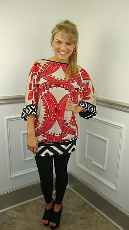 Fall Into Fabulous Tunic