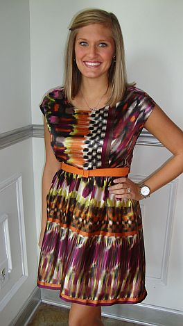 Autumn Jewels Dress