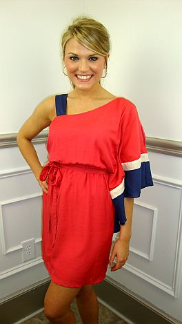 Jenny From The Colorblock Dress