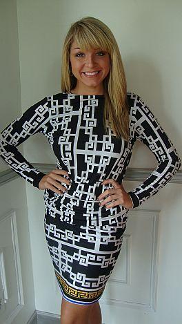 Swag Back Dress