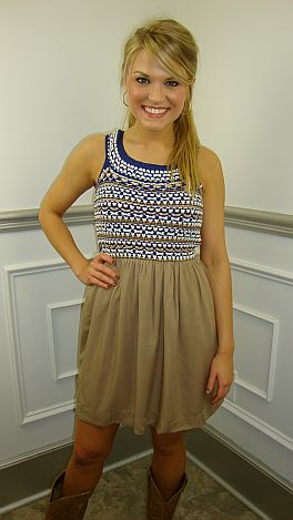Low And Be-holed Dress