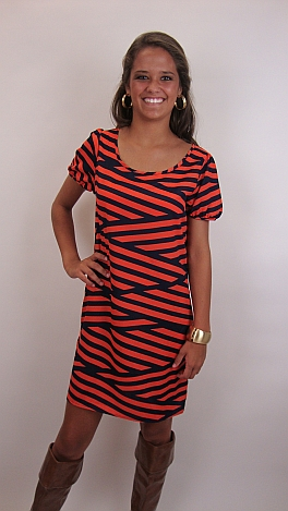 Samford Stripes Dress