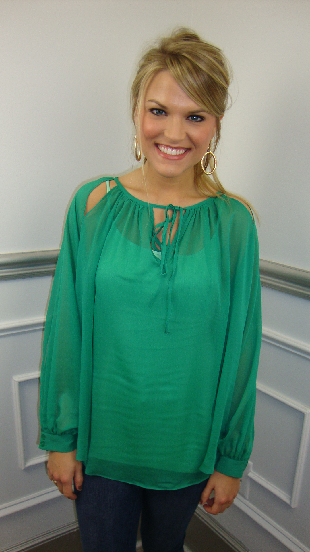 Emerald Coast Blouse