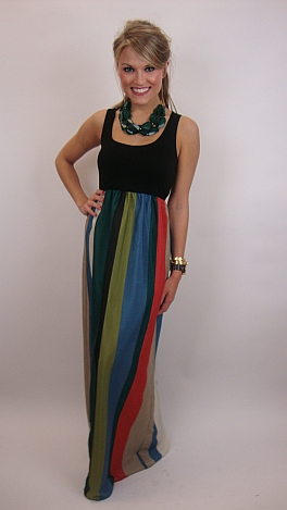 Water for Elephants Maxi, Green