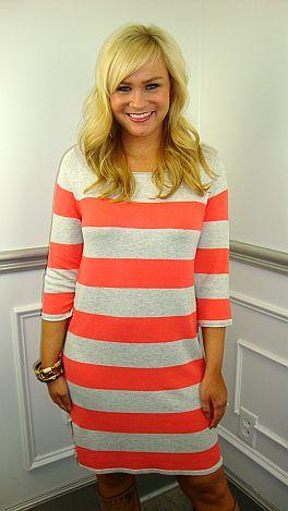 Sherbet Your Stripes Dress