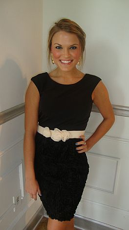Derby Day Black Dress
