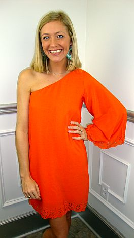 KARLIE Orange You Adorable Dress