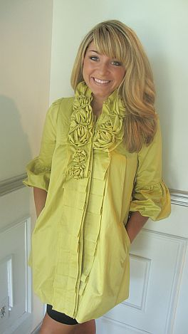 Lavish Lime Coat