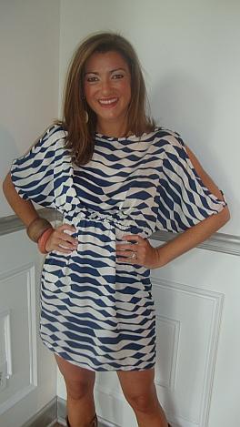 KARLIE Crashing Waves Dress