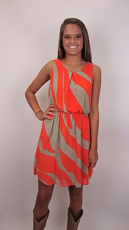 Sun & Tan Dress