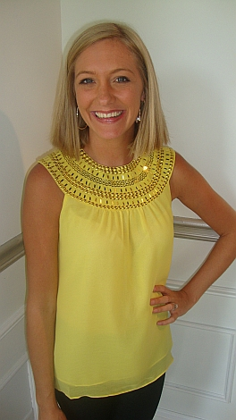 Yellow Egyptian Top