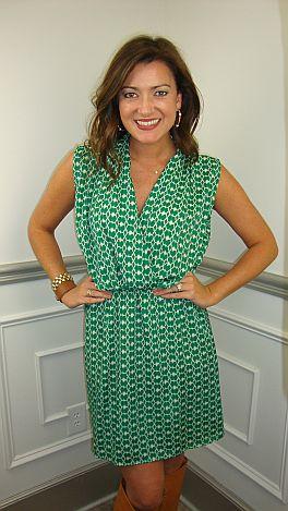 Kate Burch Dress, Green