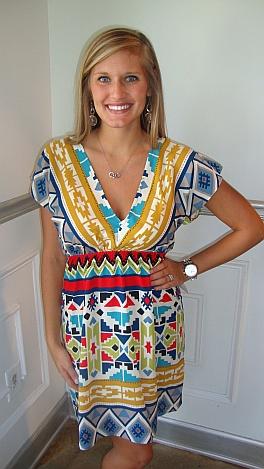 Hello, Southwest Dress