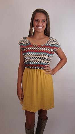 Phoenix Dress, YELLOW