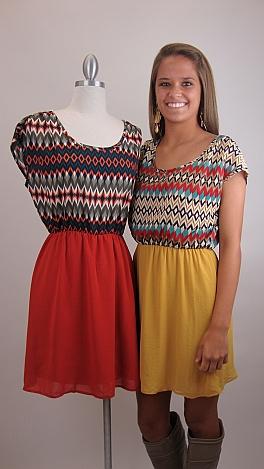 Phoenix Dress, ORANGE