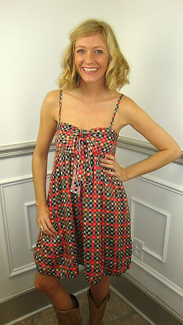 Sarah Squares Dress