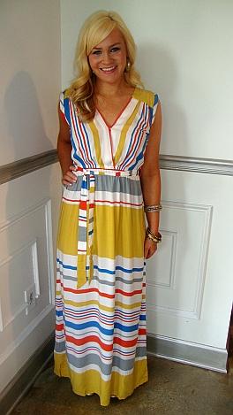 Seventies Stripe Maxi