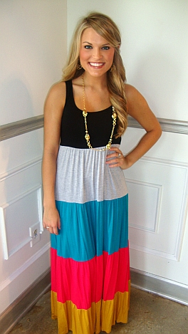 Fruit Stripes Maxi