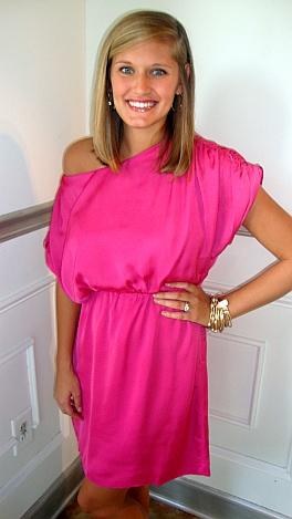 Overjoyed Dress Pink