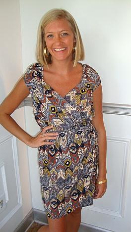Karlie Gray Tribal Dress