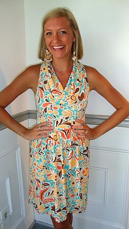 Judith March Butterscotch Dress