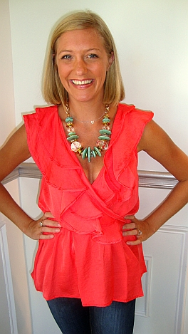 Timeless Top Coral