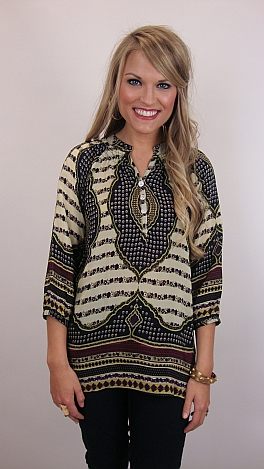 Go-to Silk Blouse, Ivory