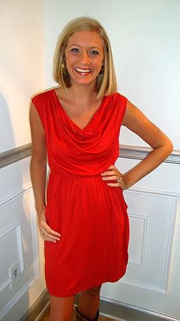 Christy Cowl Neck Dress