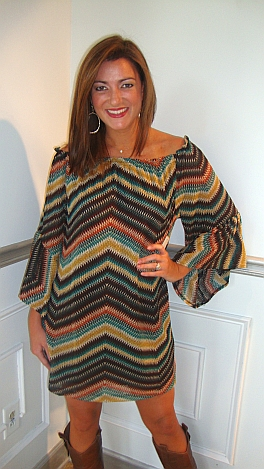 Karlie Missoni Phony Dress
