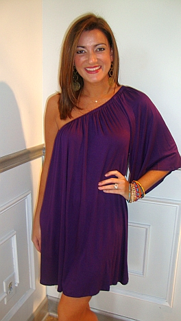 Sex And The City Dress Purple