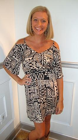 KARLIE Hieroglyphics Dress