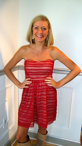 She's a Sweetheart Dress Red