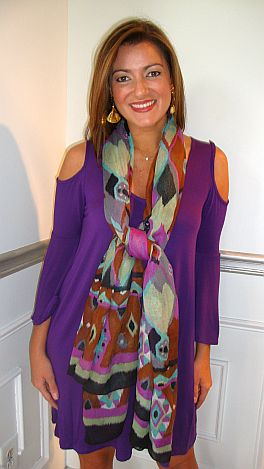 Brenda Dress Purple