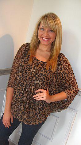 Richi Leopard Poncho