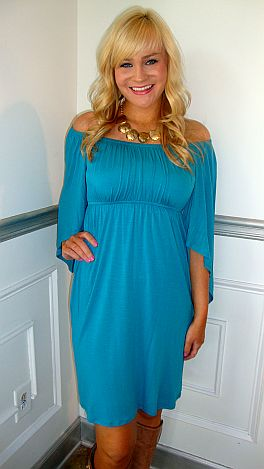 8 Days A Week Dress Blue