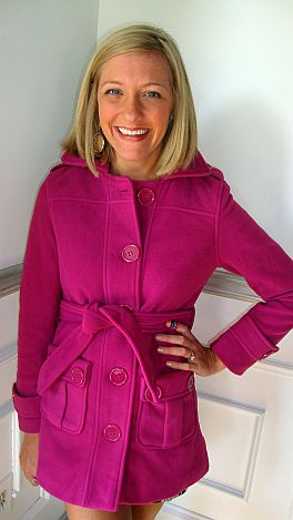 Favorite Fleece Coat, Pink