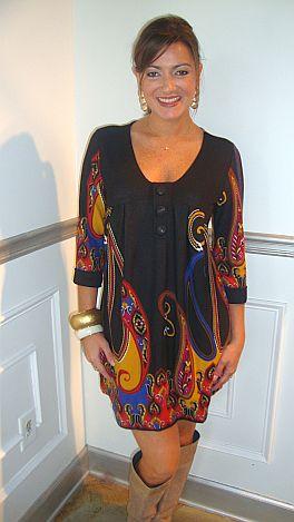 Crazy For Paisley Dress