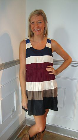 No Boundaries Stripe Dress