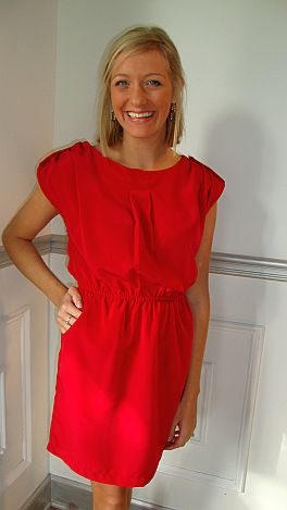 Red Sangria Dress