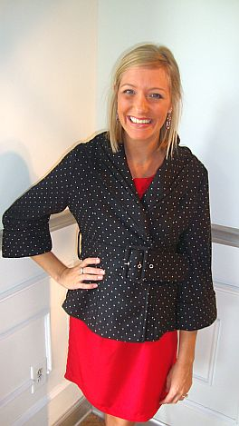 Vintage Polka Dot Jacket