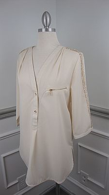 Simply Stylish Tunic, Ivory