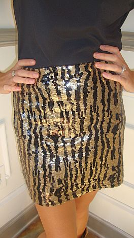 The Sizzling Zebra Skirt