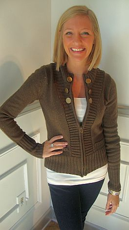 Olive Speckles Sweater