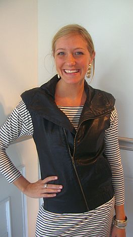 Zoe Leather Vest