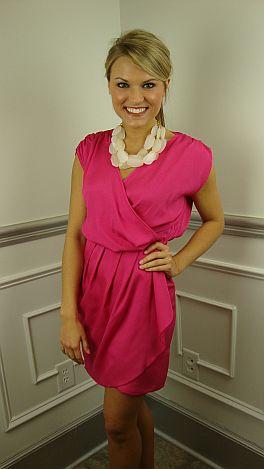 Pop Of Pink Dress